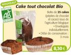 Boîte 25 Cakes tout chocolat BIO