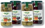Olives noir aromatisées 37cl