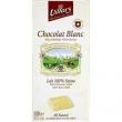 Tablette 100g lait blanc vanille