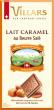 Tablette Chocolat Lait Caramel Beurre Salé VILLARS - 150g