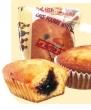 Boîte 30 cakes fourrés myrtille